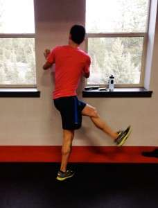 Lateral Hip Swing Finish