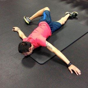 Backward Trunk Stretch