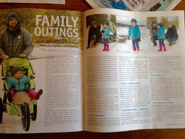 Family Outings Article with Carlee Uhrich PT