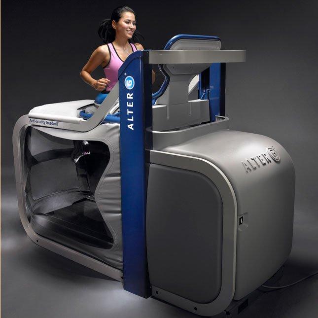 Runner on the Alter G Treadmill
