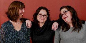 Amy, Carolyn and Haden-Admin Staff