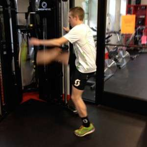 Hip Swings are good for Dynamic Warmups and general hip and pelvic tightness