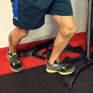 Soleus Stretch for ankle flexibility