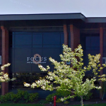 Focus PT- trees sway in front of the Eastside location on NE Medical Center Drive in Bend, OR
