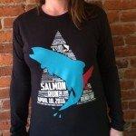 Shirt for salmon run 2016