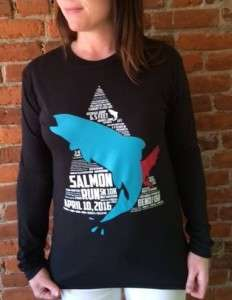 Shirt for salmon run 2016